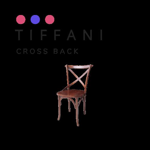 kursi tifani cross back